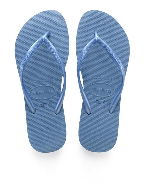 havaianas Slim Flips Women Blue